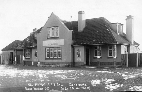 The Flying Fish - a popular watering place for all RAF personnel
