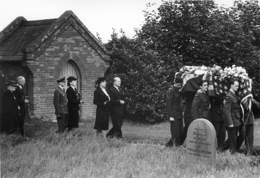 The walk out to the Grave