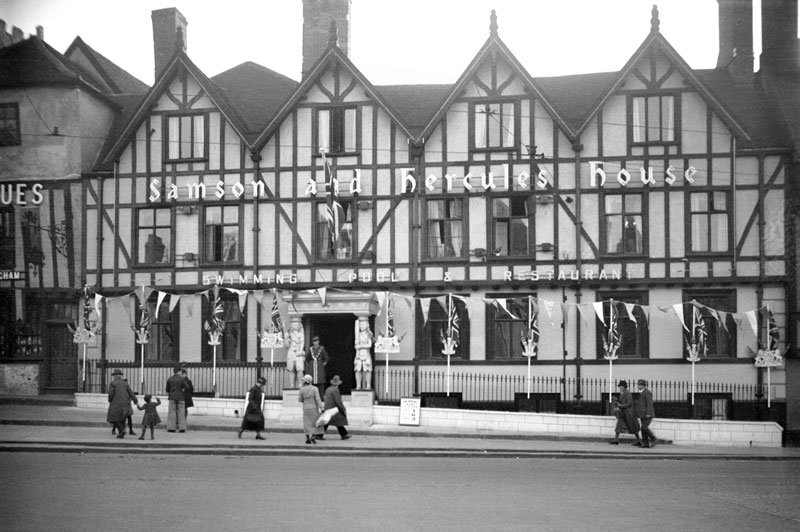 The 'Samson and Hercules' Dance Hall, in Norwich, where many Blenheim aircrew spent their evenings in the company of delightful young ladies (George Plunkett)