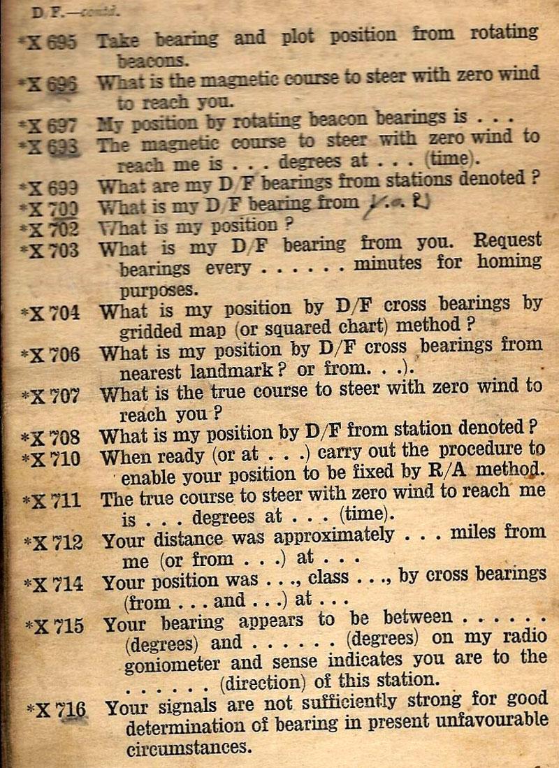 Bob Carey's AP 982: Aircraft W/T Operating Signals 1939 (Bob Carey)