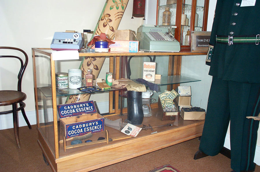 The Watton Room - Detail of some of the items on display - may from Durrants in the High Street