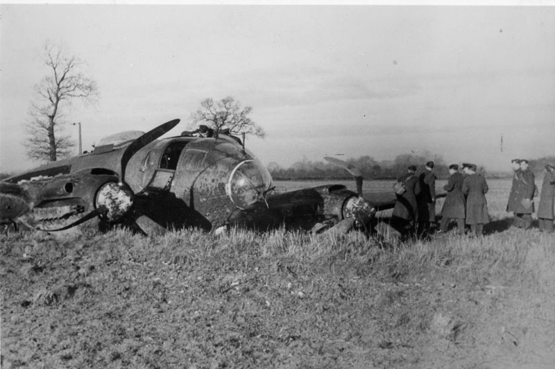 Heinkel HE111 at Ovington
