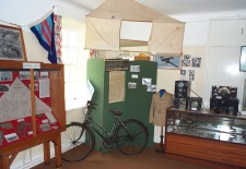 The second of the RAF rooms with photographs and items of memorabilia from the war years