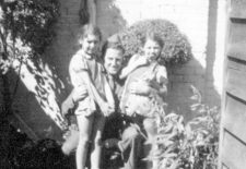 Ray with the landlady's kidsray-dorman-with-the-landladys-kids