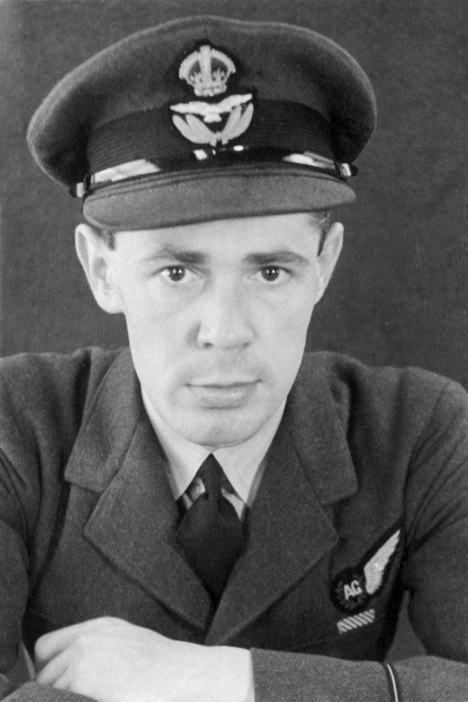 Squadron Leader Hunter DFM (via Bob Hunter, son)