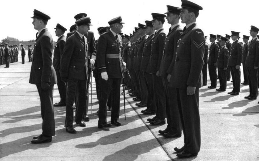 Parade RAF Watton June 1965