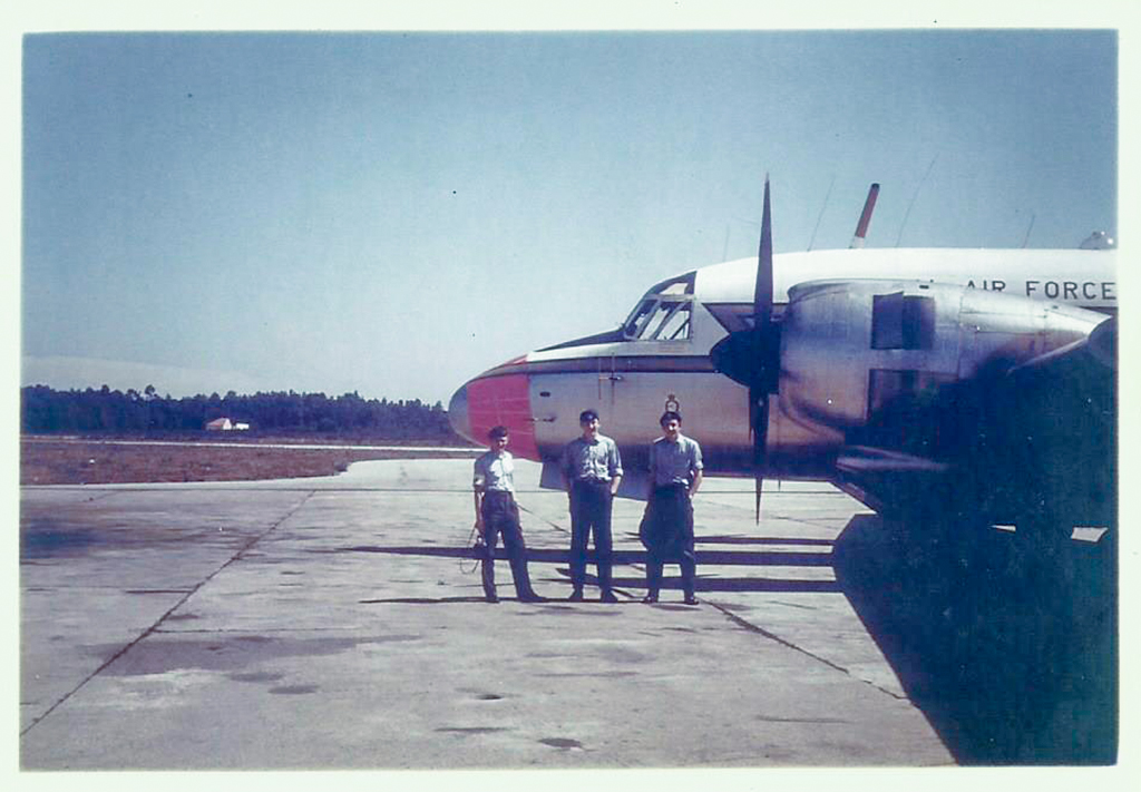 Refuelling stop at Oporto 1966